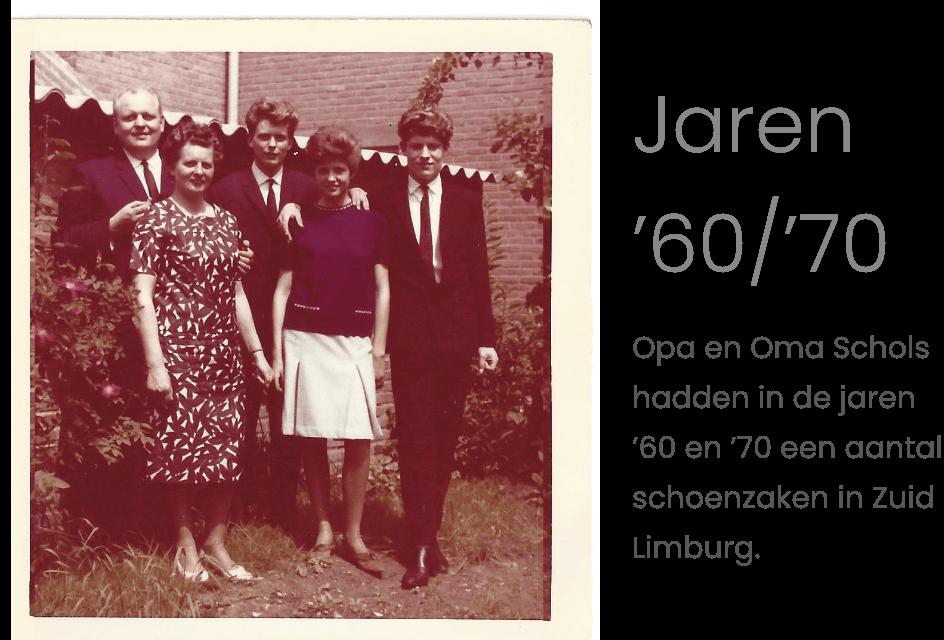 Tijdlijn jaren 60/70