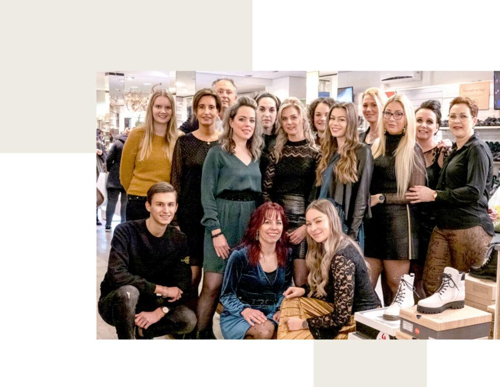 Het team van Schols Schoenmode